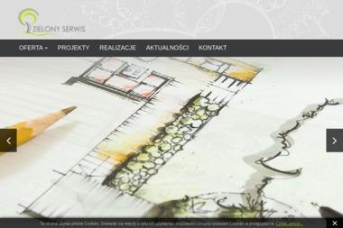 Zielony serwis - Projektowanie ogrodów Oława