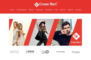 Cream Hurt - Hurtownia odzieży Sztum