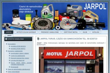 Sklep motoryzacyjny Jarpol - Akcesoria motoryzacyjne Toruń