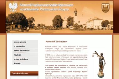 Komornik Sądowy przy Sądzie Rejonowym w Sochaczewie Przemysław Kosyra - Firma audytorska Sochaczew