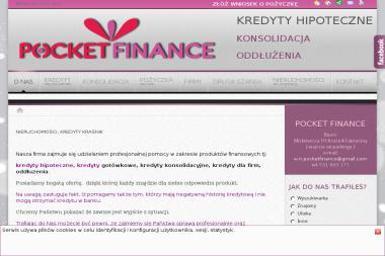 POCKET FINANCE - Kredyt dla firm Kraśnik