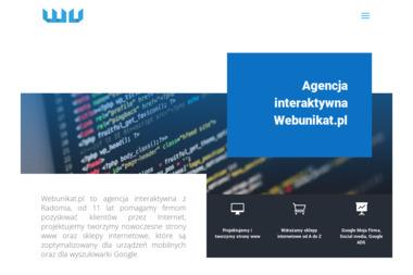 Agencja Interaktywna Webunikat - Agencja Internetowa Radom