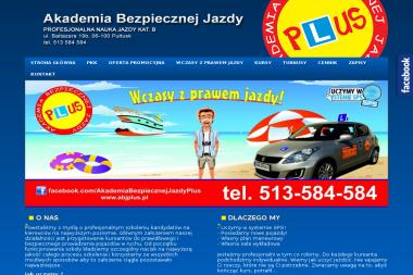 Akademia Bezpiecznej Jazdy Plus - Szkoła Nauki Jazdy Pułtusk