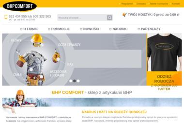 BHP COMFORT SJ - Przewóz Mebli Kraków