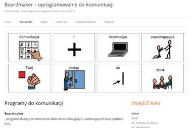 Boardmaker - Poligrafia Słomniki