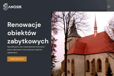 """ŚLAZYK MARIAN Firma Handlowo- Produkcyjno - Usługowa """"Janosik"""", import - eksport - Firma Malująca Dachy Męcina"""