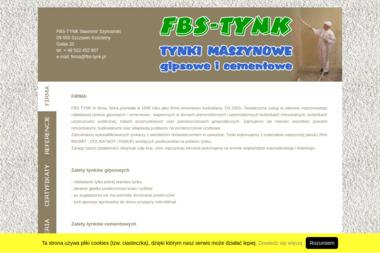 FBS-TYNK Sławomir Szymański - Posadzki Szczawin Kościelny