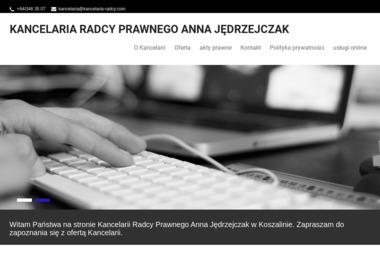 Kancelaria Radcy Prawnego Anna Jędrzejczak - Pomoc Prawna Koszalin