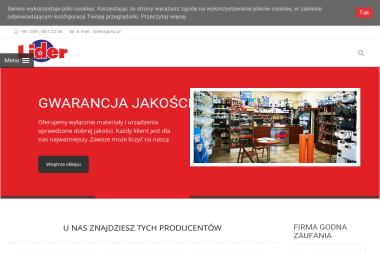 """Firma handlowo-usługowa """"Lider"""" Damian Lis - Rury Kanalizacyjne Nowa Wieś Lęborska"""