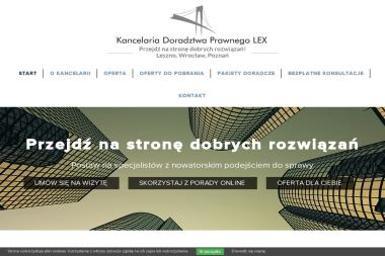 Kancelaria Doradztwa Prawnego LEX Sp. z o.o. - Obsługa prawna firm Leszno
