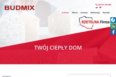 BUDMIX Sp. z o.o. - Ocieplanie budynków Firlej