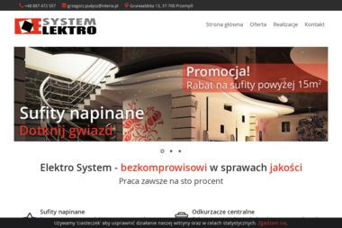 Elektrosystem Grzegorz Pudysz - Architekt wnętrz Przemyśl