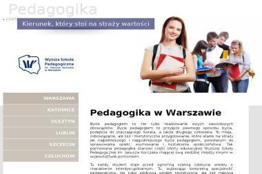 Korczak-pedagogika.pl - Uczelnie wyższe Warszawa
