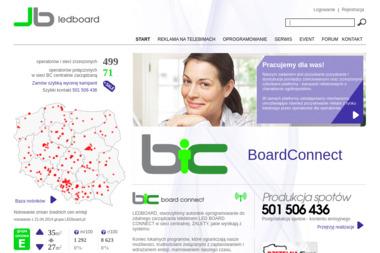 Ledbord Sp. z o.o. - Reklama internetowa Kalisz