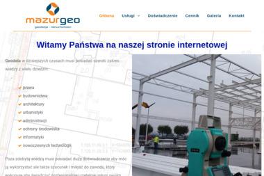 Mazur Geo - Geodeta Kraków
