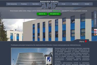 AMF Sp. z o.o. - Obróbka metali Maków Mazowiecki