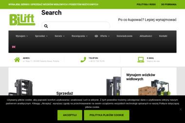 BiLift Polska Sp. z o.o. - Wózki widłowe Falenty Nowe