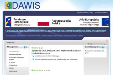 Dawis - kable energetyczne - Systemy i usługi Pruszków