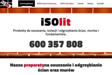 ISOLIT - Osuszanie Domów Stalowa Wola