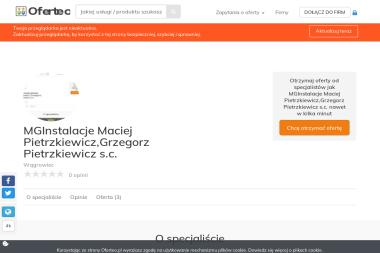 MGInstalacje Maciej Pietrzkiewicz,Grzegorz Pietrzkiewicz s.c. - Instalacje grzewcze Wągrowiec