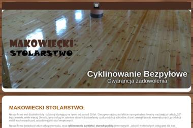 Zakład stolarski Mariusz Makowiecki - Cyklinowanie Pleszew