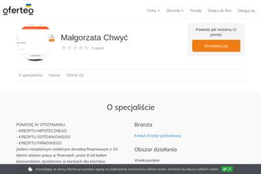 Małgorzata Chwyć - Kredyt gotówkowy Swarzędz