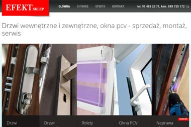 Drzwi i okna EFEKT - Okna Aluminiowe Szczecin