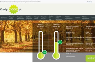 Poli Invest Sp.z o.o. - Kredyt na Dowód Suwałki