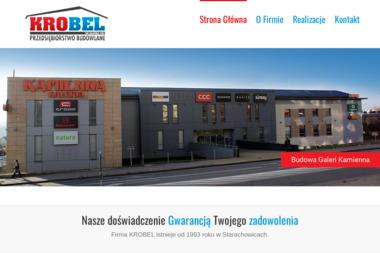 KROBEL Sp. z o.o. Sp. k. - Elewacja z Klinkieru Starachowice