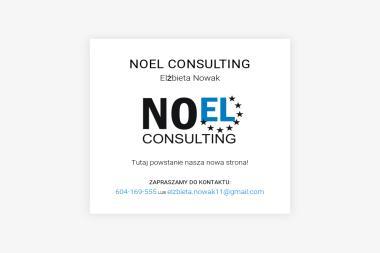 Noel Consulting Elżbieta Nowak - Biznes plany, usługi finansowe Chodzież