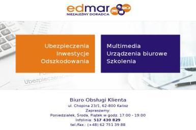 EDMAR NIEZALEZNY DORADCA Mariusz Brodziak - Plotery nowe Kalisz