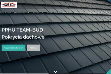 P.P.H.U. TEAM-BUD - Pokrycia dachowe Piotrków Trybunalski