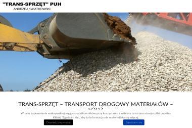 PUH TRANS-SPRZĘT - Firma Odśnieżająca Dachy Łódź