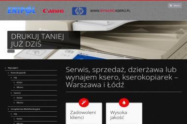 """""""ENIPOL"""" Anna Szymańska Marek Szymański spółka jawna - Urządzenia Biurowe Łódź"""
