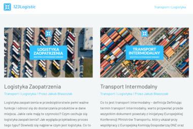 123Logistic Sp. z o.o. - Biuro rachunkowe Zielona Góra