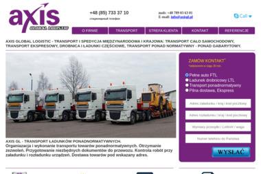 Axis Global Logistic sp. z o.o. sp. k. - Przeprowadzki Białystok