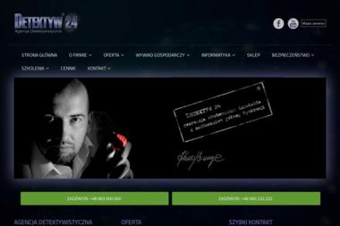 Detektyw24 Agencja Detektywistyczna Szaruga Krzysztof - Biuro Detektywistyczne Warszawa