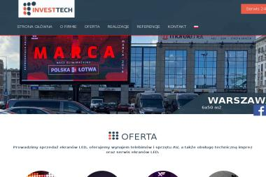 Investtech Group sp. z o.o. - Reklama internetowa Toruń