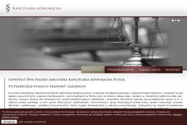 Kancelaria Adwokacka Adwokat Ewa Paszko - Adwokat Płock