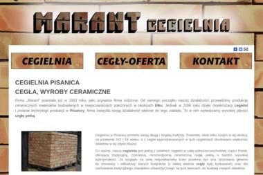 Marant Cegielnia Sprzedaż cegieł i wyrobów ceramicznych - Materiały ociepleniowe Kalinowo