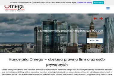 Kancelaria Prawna OMEGA - Radca prawny Chrzanów