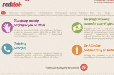 RED Dot Biuro Tłumaczeń i Szkoleń - Szkolenia Żywiec