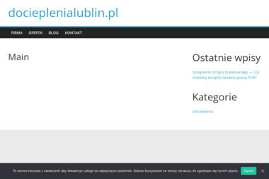 Drol Sp. z O.O. - Ocieplanie budynków Lublin