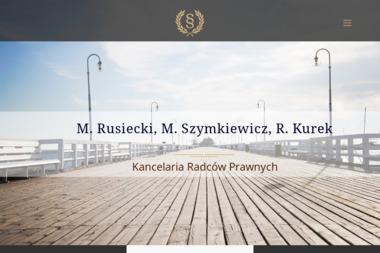 Kancelaria Radców Prawnych M.Rusiecki, M.Szymkiewicz, R.Kurek - Obsługa prawna firm Gdynia
