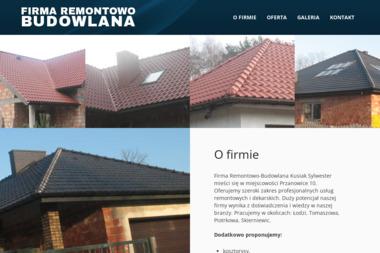 FIRMA REMONTOWO-BUDOWLANA - Glazurnik Koluszki