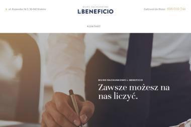 L-Beneficio - Usługi podatkowe Kraków