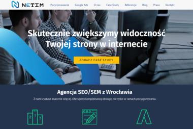 Netim - Projektowanie logo Wrocław