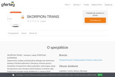 SKORPION-TRANS - Transport busem Biała Podlaska