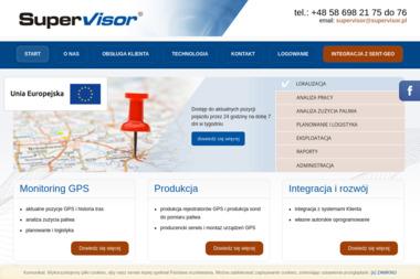 Supervisor Sp. z o.o. - Monitoring pojazdów GPS Gdynia