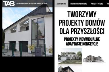 Autorska Pracownia Architektoniczna - Adaptacja projektów Łęczna